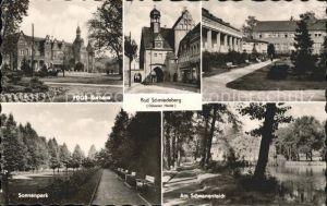 Bad Schmiedeberg FDGB Kurhaus Schwanenteich Sonnenpark Kat. Bad Schmiedeberg Duebener Heide