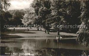 Neuss Stadtgarten / Neuss /Rhein-Kreis Neuss LKR