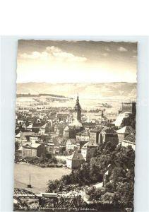 Glatz Niederschlesien Stadtblick mit Festung Glatz Kat. Klodzko