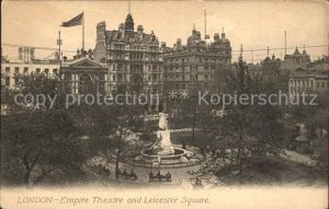 London Empire Theatre and Leicester Square Monument Kat. City of London