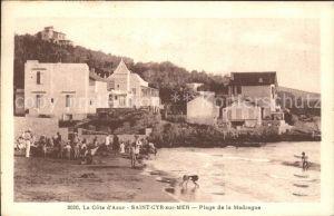Saint Cyr sur Mer Plage de la Madrague Kat. Saint Cyr sur Mer