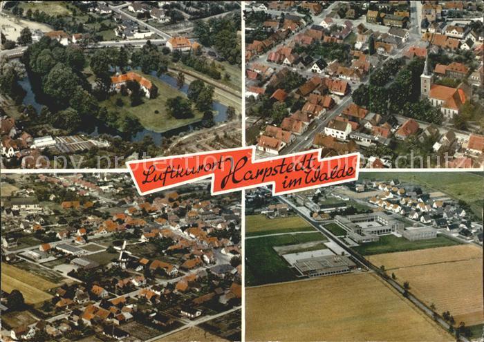 Harpstedt Luftkurort Fliegeraufnahme Kat. Harpstedt