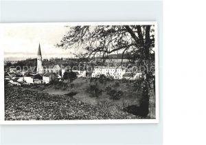 Mauerkirchen Ortsansicht mit Kirche Kat. Mauerkirchen