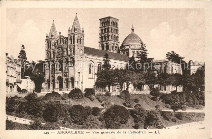 Angouleme Vue generale de la Cathedrale Kat. Angouleme