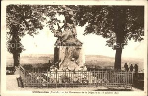 Chateaudun Le Monument de la defense du 18 octobre 1870 Kat. Chateaudun