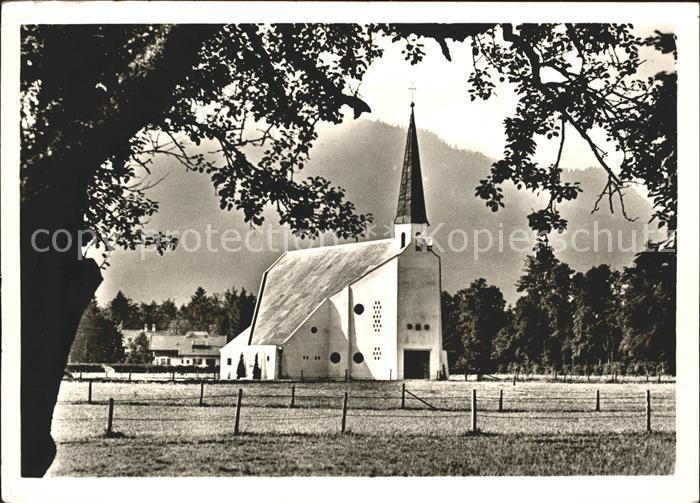 Rottach Egern Ev Auferstehungskirche Kat. Rottach Egern