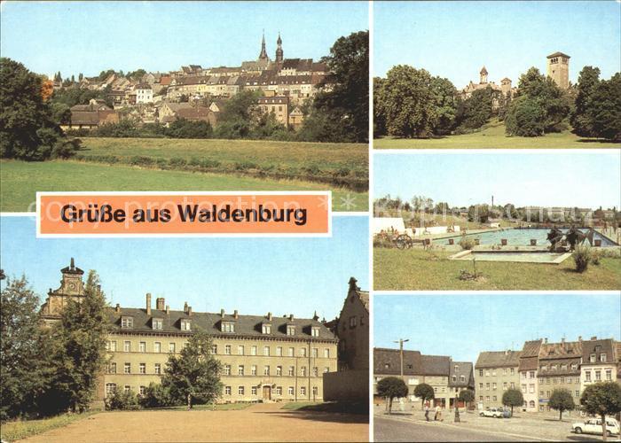 Waldenburg Sachsen  Kat. Waldenburg Sachsen