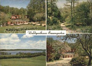 Bistensee Waldgasthaus Baumgarten Kat. Bistensee