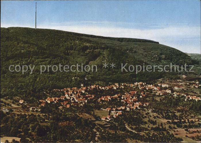 Dannenfels Erholungsort am Donnersberg Fernsehturm Fliegeraufnahme Kat. Dannenfels