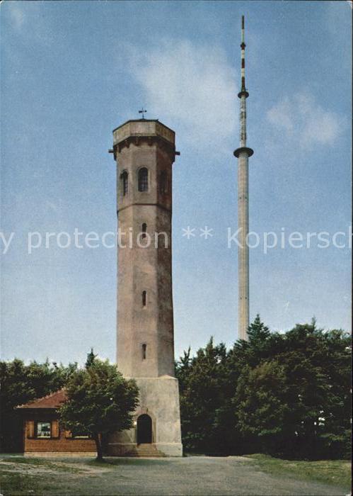 Dannenfels Luftkurort am Donnersberg Ludwigsturm Fernsehturm Kat. Dannenfels