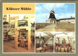 Kluetz Gaststaette Kluetzer Muehle  Kat. Kluetz