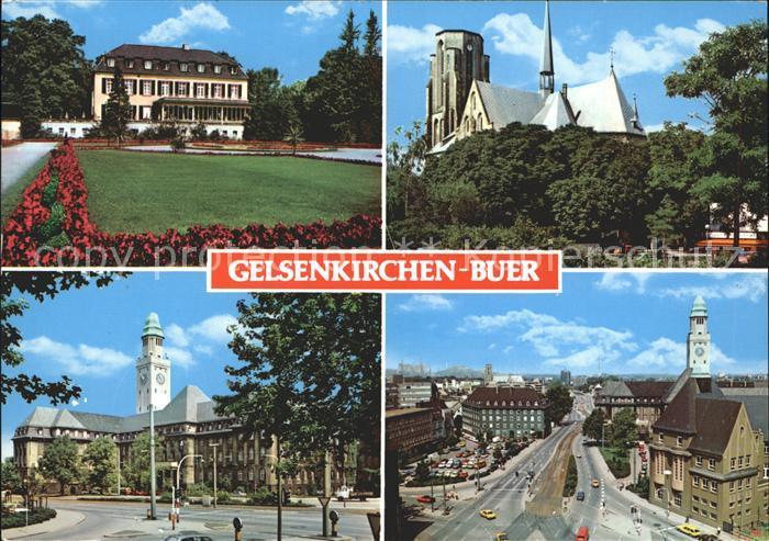 Buer Gelsenkirchen Stadtansichten Kat. Gelsenkirchen
