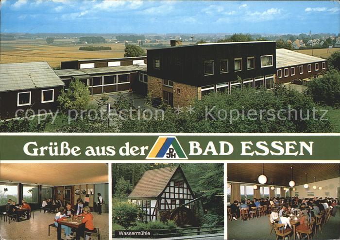 Bad Essen Jugendherberge Wassermuehle Kat. Bad Essen