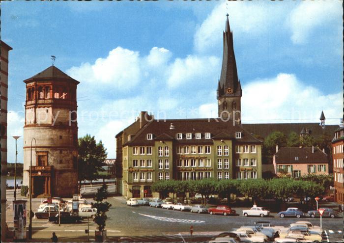 Duesseldorf Burgplatz Kat. Duesseldorf