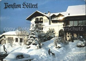 Steinbach Attersee Pension Hoellerl  Kat. Steinbach am Attersee
