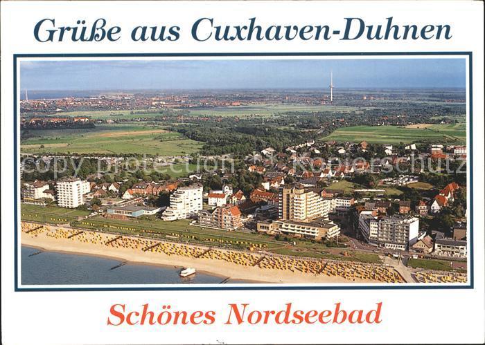 Cuxhaven Nordseebad Duhnen Fliegeraufnahme Kat. Cuxhaven