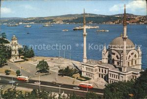 Istanbul Constantinopel Dolmabahce Moschee Bosphorus Kat. Istanbul