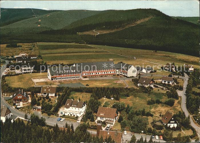 Schulenberg Oberharz Bundesbahn Kinderheim Kat. Schulenberg im Oberharz