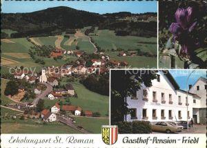 Sankt Roman Schefberg Gasthof Pension Friedl Kat. Sankt Roman