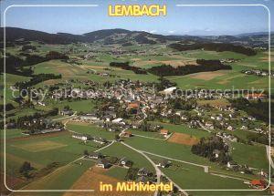 Lembach Muehlkreis Fliegeraufnahme Kat. Lembach im Muehlkreis