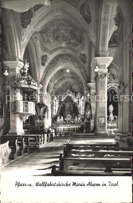 Innsbruck Pfarr und Wallfahrtskirche Maria Absam Kat. Innsbruck