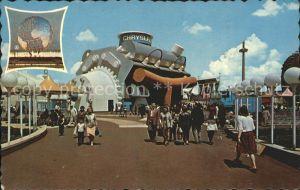 New York City Chrysler Corporation Exhibit at the Worlds Fair 64 / New York /