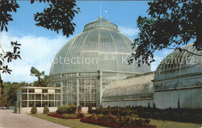 Detroit Michigan Horticultural Building Belle Isle Park Kat. Detroit