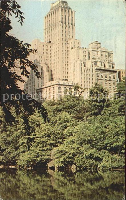 New York City Barbizon Plaza Hotel / New York /