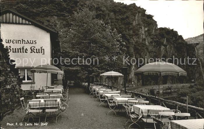 Walporzheim Weinhaus zur Bunten Kuh Kat. Bad Neuenahr Ahrweiler