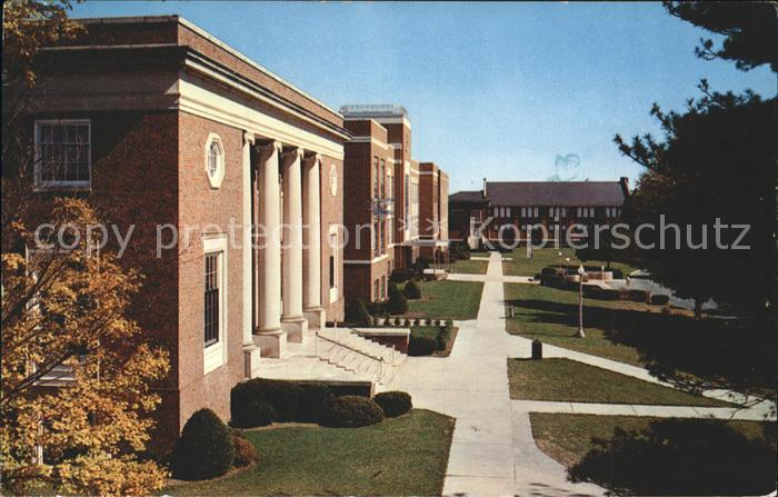 Athens West Virginia Concord College Kat. Athens