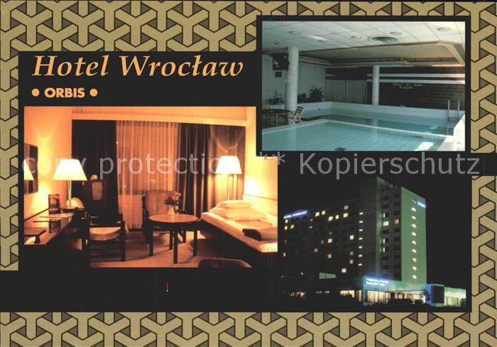 Wroclaw Orbis Wroclaw Hallenbad Kat. Wroclaw Breslau