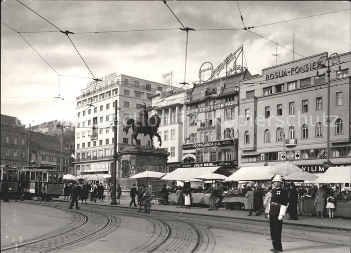 Zagreb Jelacic Platz Kat. Zagreb