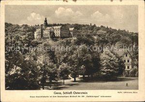 Gera Schloss Osterstein  Kat. Gera