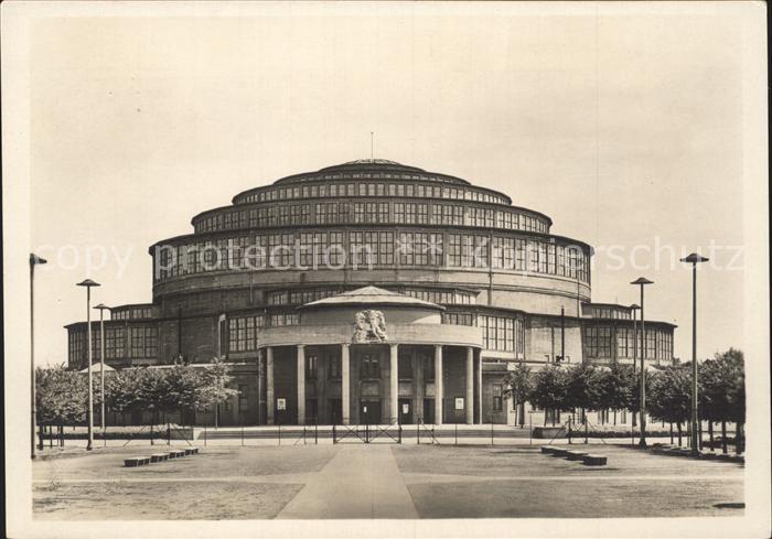 Breslau Niederschlesien Jahrhunderthalle  Kat. Wroclaw