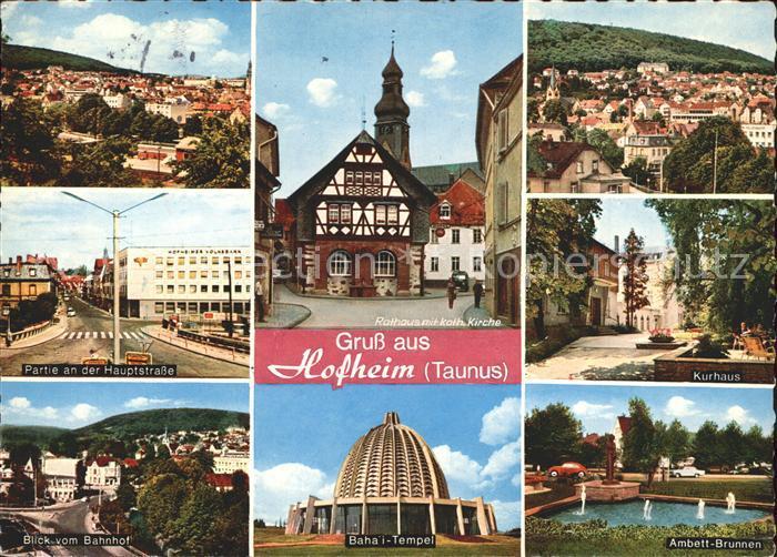 Hofheim Taunus  Kat. Hofheim am Taunus