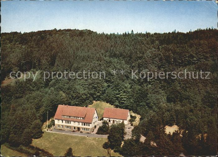Roedinghausen Fliegeraufnahme Jugendheim Kat. Roedinghausen