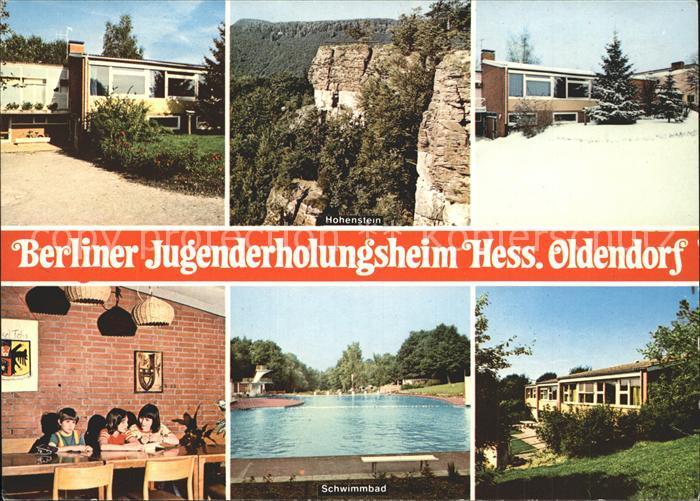 Hessisch Oldendorf Berliner Jugendheim Kat. Hessisch Oldendorf