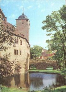 Kapellendorf Wasserburg Torturm Bruecke  Kat. Kapellendorf