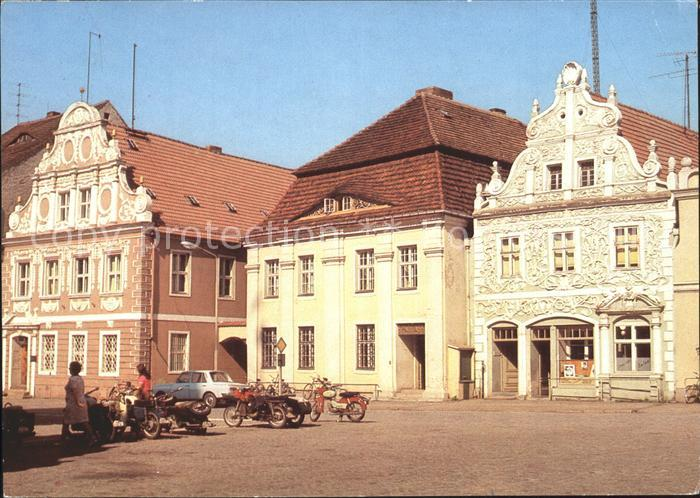 Luckau Niederlausitz Markt Kat. Luckau Niederlausitz