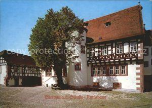 Steinau Strasse Amtshaus  Kat. Steinau an der Strasse