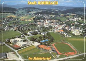 Rohrbach Oberoesterreich Fliegeraufnahme Kat. Rohrbach in Oberoesterreich
