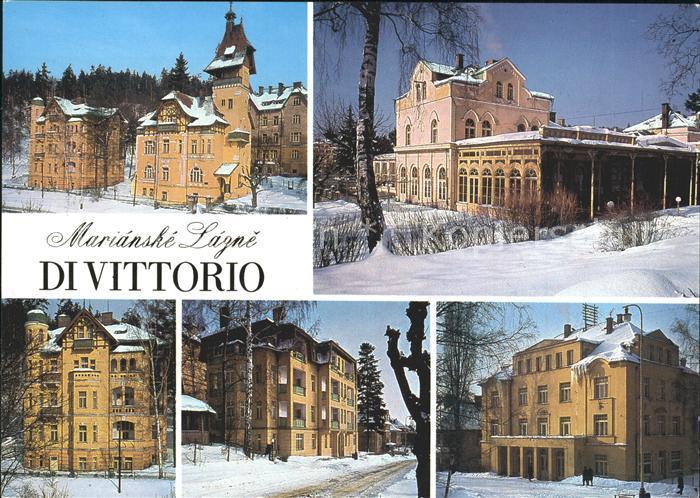 Marianske Lazne Lazenske domy zotavovny ROH Di Vittorio Kat. Marienbad