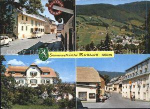 Fischbach Steiermark Grossgasthof Dobner Gesamtansicht Pension Prettenhofer Gasthof Zink Kat. Fischbach