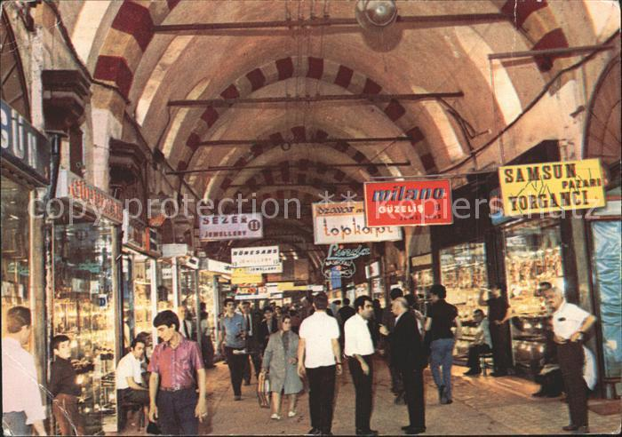 Istanbul Constantinopel Bazar Kat. Istanbul