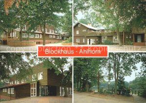 Ahlhorn Blockhaus Jugendheim Kat. Grossenkneten