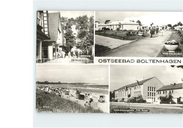 Boltenhagen Ostseebad Boltenhagen Kat. Ostseebad Boltenhagen