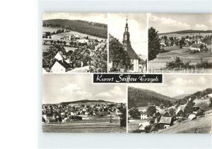 Seiffen Erzgebirge  Kat. Kurort Seiffen Erzgebirge