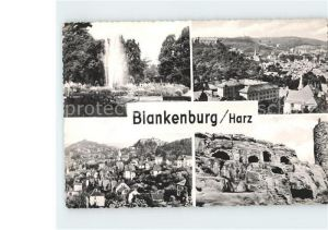 Blankenburg Harz Brunnen Blankenburg Kat. Blankenburg