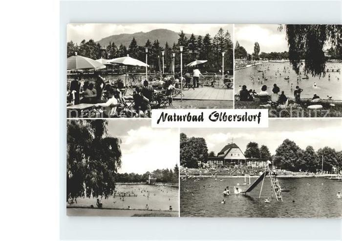 Olbersdorf Sachsen Naturbad  Kat. Olbersdorf