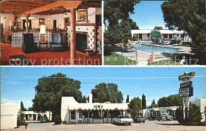 Santa Fe New Mexico Thunderbird Motel Kat. Santa Fe